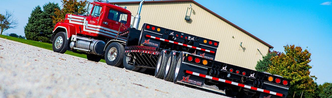 XL Specialized semi trailer